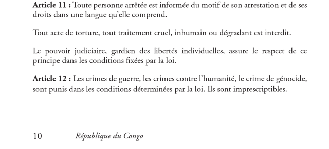 Article11-constitution Congo 2015