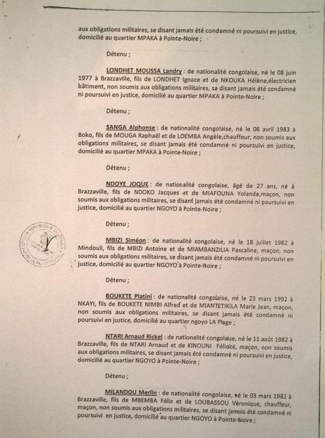 5. Arret 7 Avril 2014 - emprisonnement CDRC