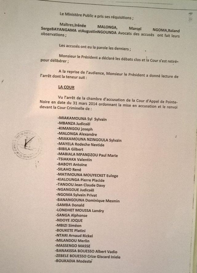 7. Arret 7 Avril 2014 - emprisonnement CDRC