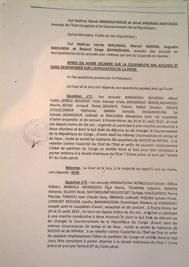 8. Arret 7 Avril 2014 - emprisonnement CDRC