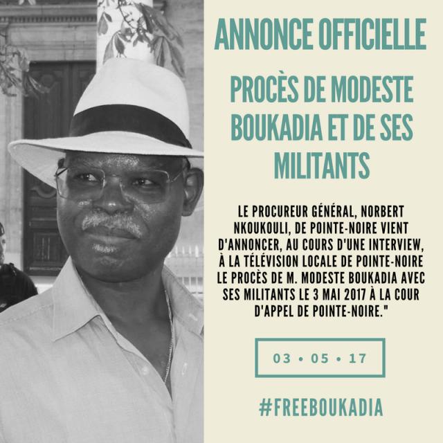 Proces Modeste Boukadia et Militants au Congo-6