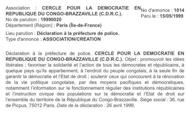 Association CDRC
